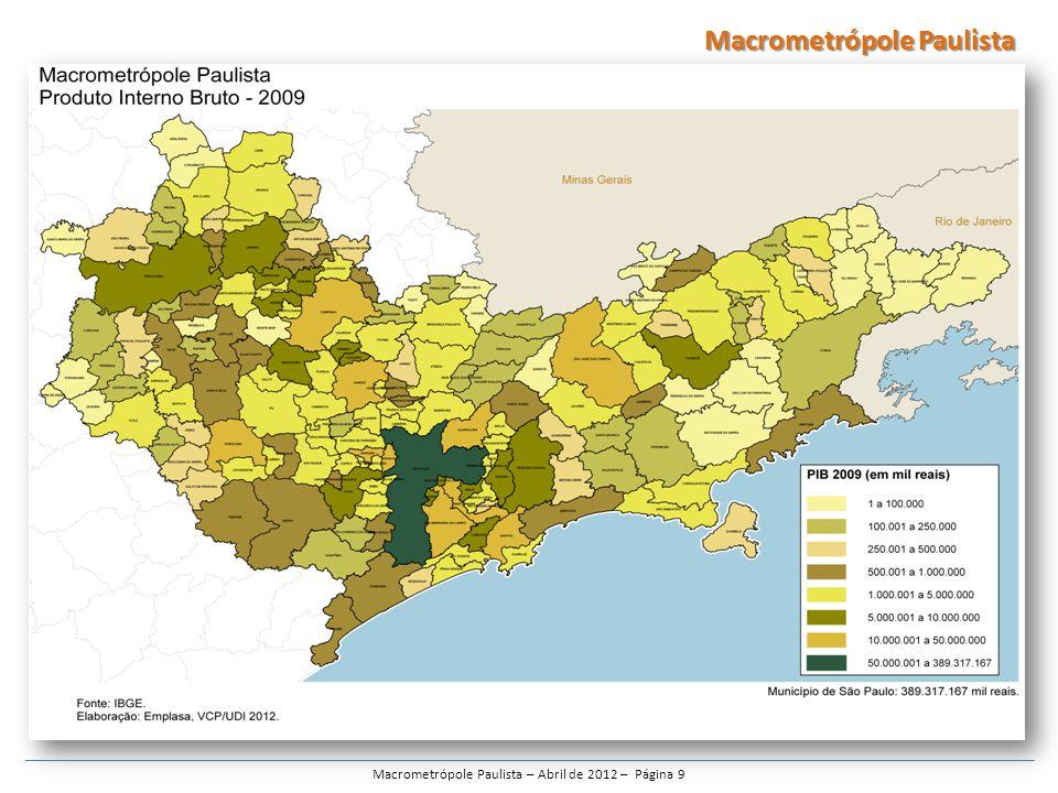 Macrometrópole Paulista – Abril de 2012 – Página 30 Macrometrópole Paulista