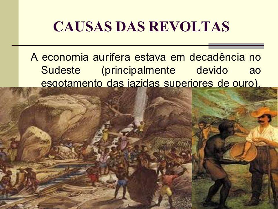INCONFIDÊNCIA MINEIRA Local: Minas Gerais.Ano: 1789.