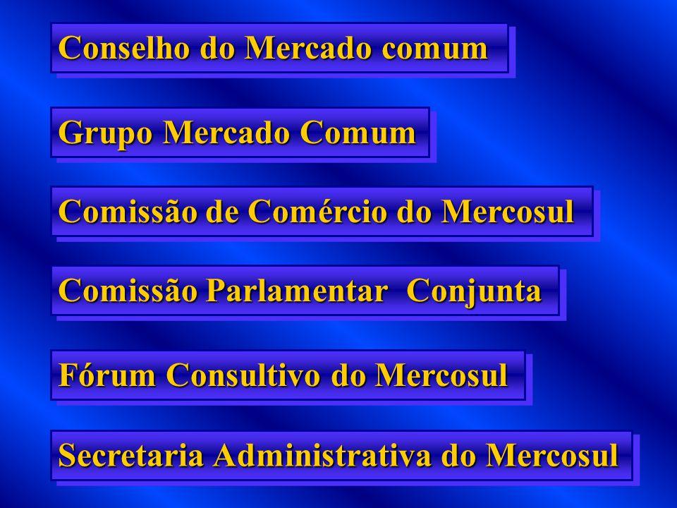 AS NEGOCIAÇÕES PARA A FORMAÇÃO DO MERCADO COMUM SERIAM CONDUZIDAS MEDIANTE A SEGUINTE ESTRUTURA ORGÂNICA: