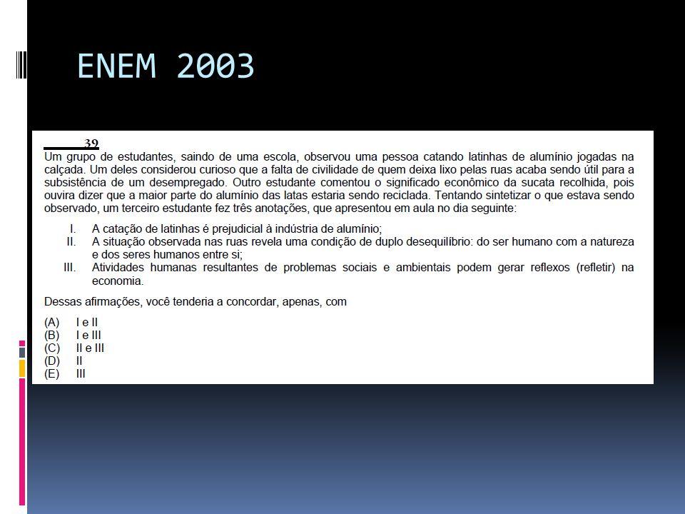 ENEM 2003