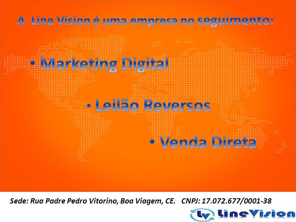 Sede: Rua Padre Pedro Vitorino, Boa Viagem, CE. CNPJ: 17.072.677/0001-38