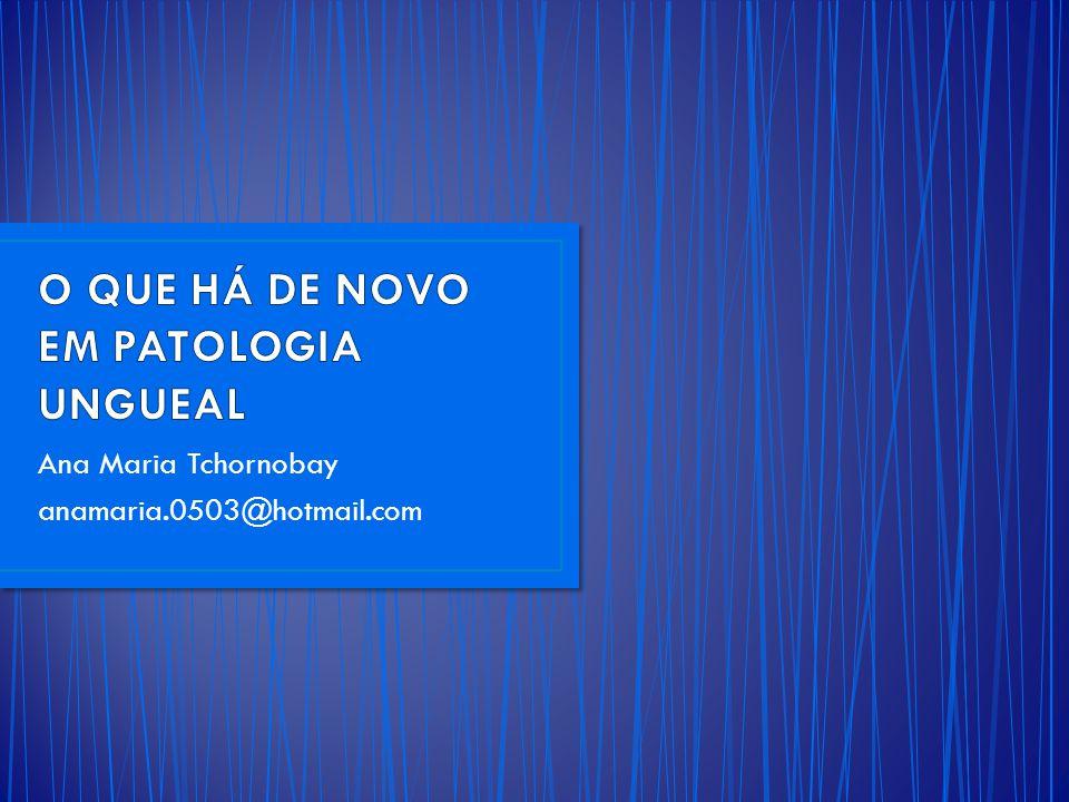 Ana Maria Tchornobay anamaria.0503@hotmail.com