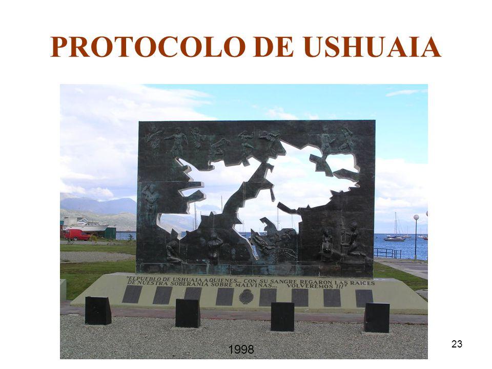 23 PROTOCOLO DE USHUAIA 1998