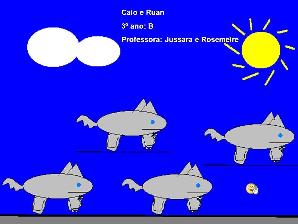 Caio e Ruan 3º ano: B Professora: Jussara e Rosemeire