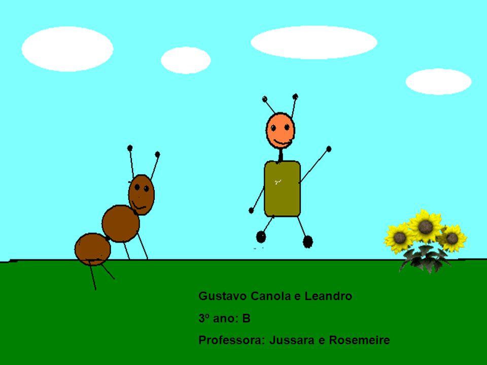 Gustavo Canola e Leandro 3º ano: B Professora: Jussara e Rosemeire