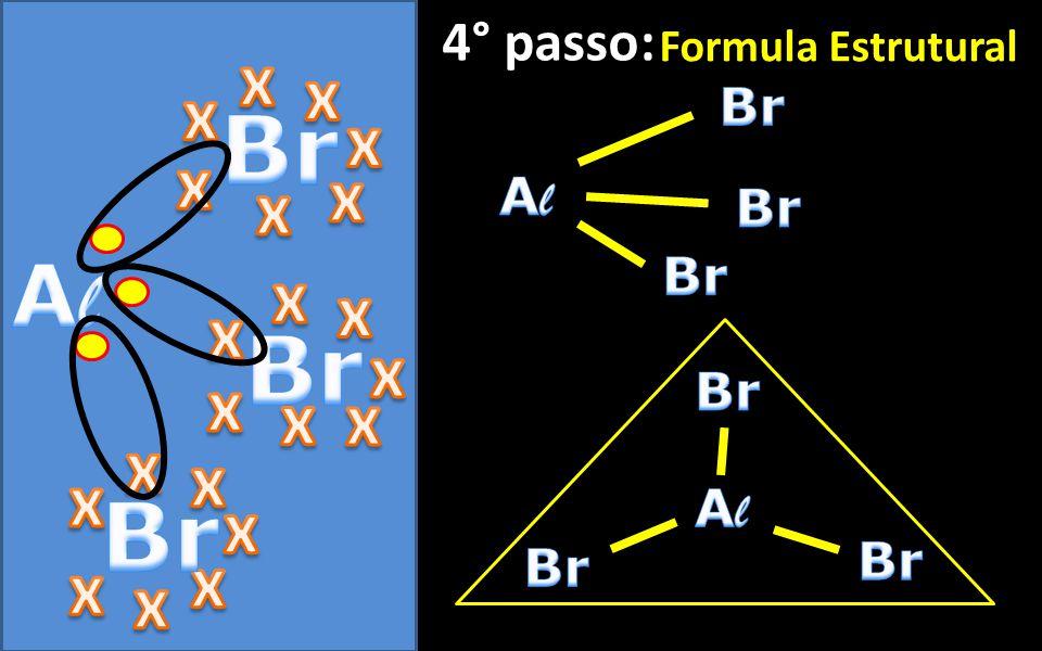 3° passo: Formula de Lewis
