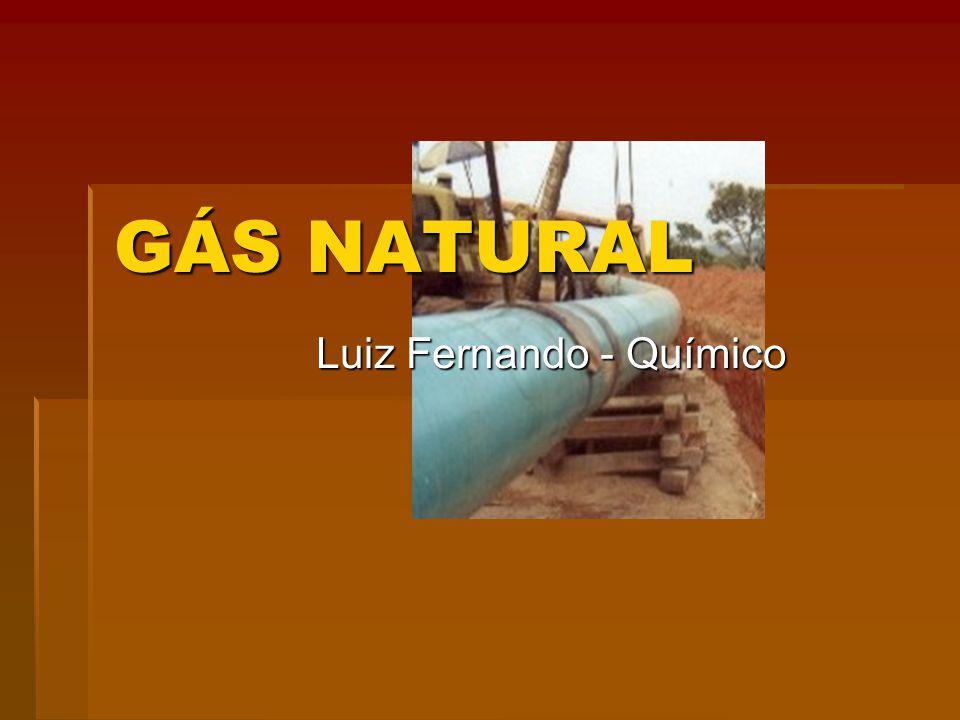 GÁS NATURAL Luiz Fernando - Químico
