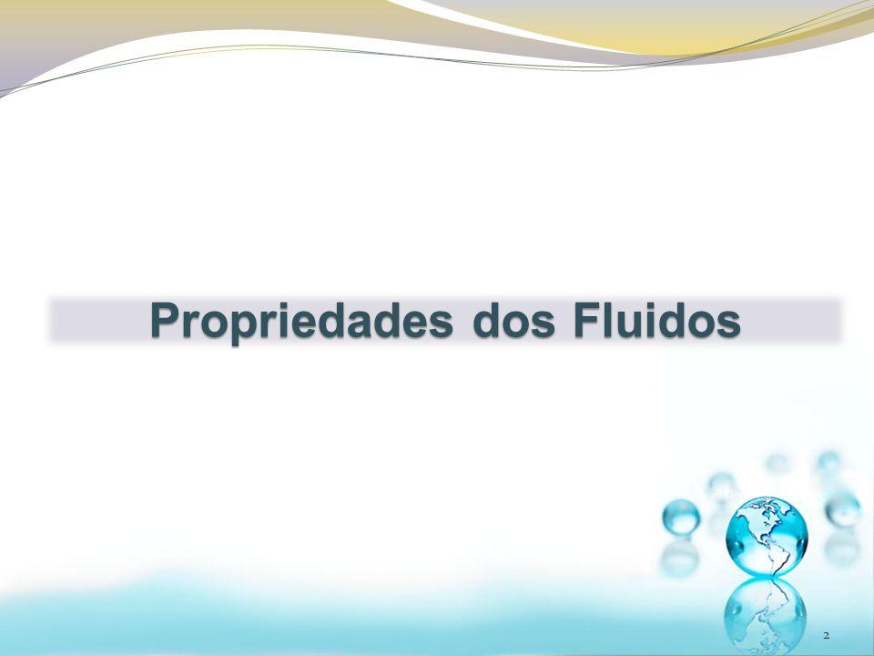 VIMOS QUE: 3 A viscosidade é zero ou desprezível e o fluido é incompressível Fluido ideal OU PERFEITO O que significa fluido incompressível.