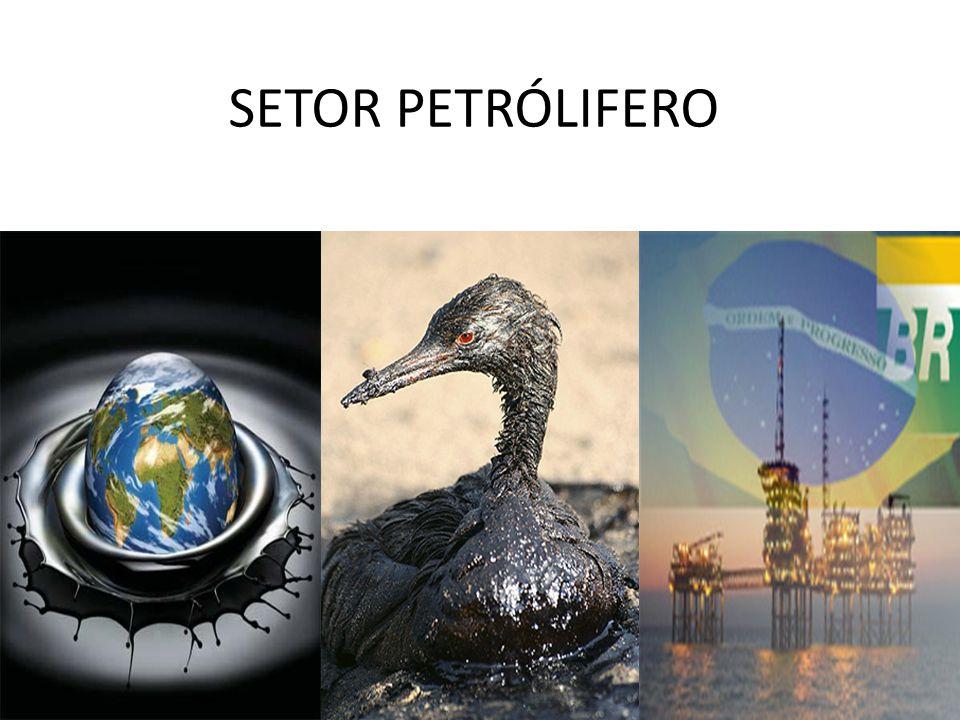 SETOR PETRÓLIFERO Além das melhorias dos serviços públicos como serviços de energia elétrica, água e de esgoto da cidade;