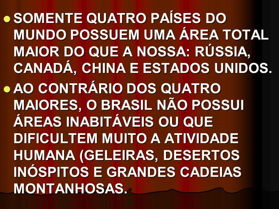 REGIÃO NORTE A REGIÃO NORTE OCUPA CERCA DE 45,27% DO TERRITÓRIO BRASILEIRO.