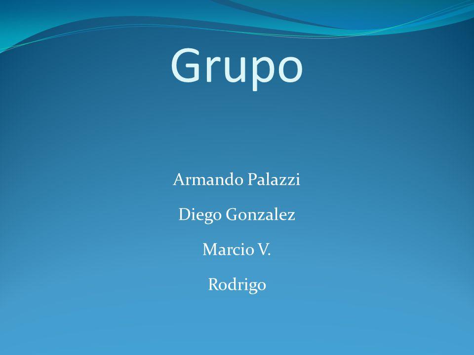 Grupo Armando Palazzi Diego Gonzalez Marcio V. Rodrigo