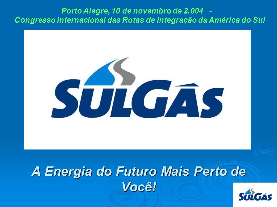 SULGAS Estrutura Acionária Capital Social 49% PETROBRAS 51% RS