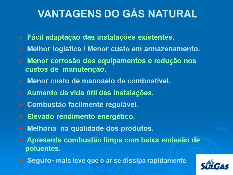 SULGAS Projeção de Vendas de Gás Boliviano