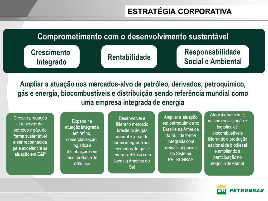 Ampliar a atuação nos mercados-alvo de petróleo, derivados, petroquímico, gás e energia, biocombustíveis e distribuição sendo referência mundial como