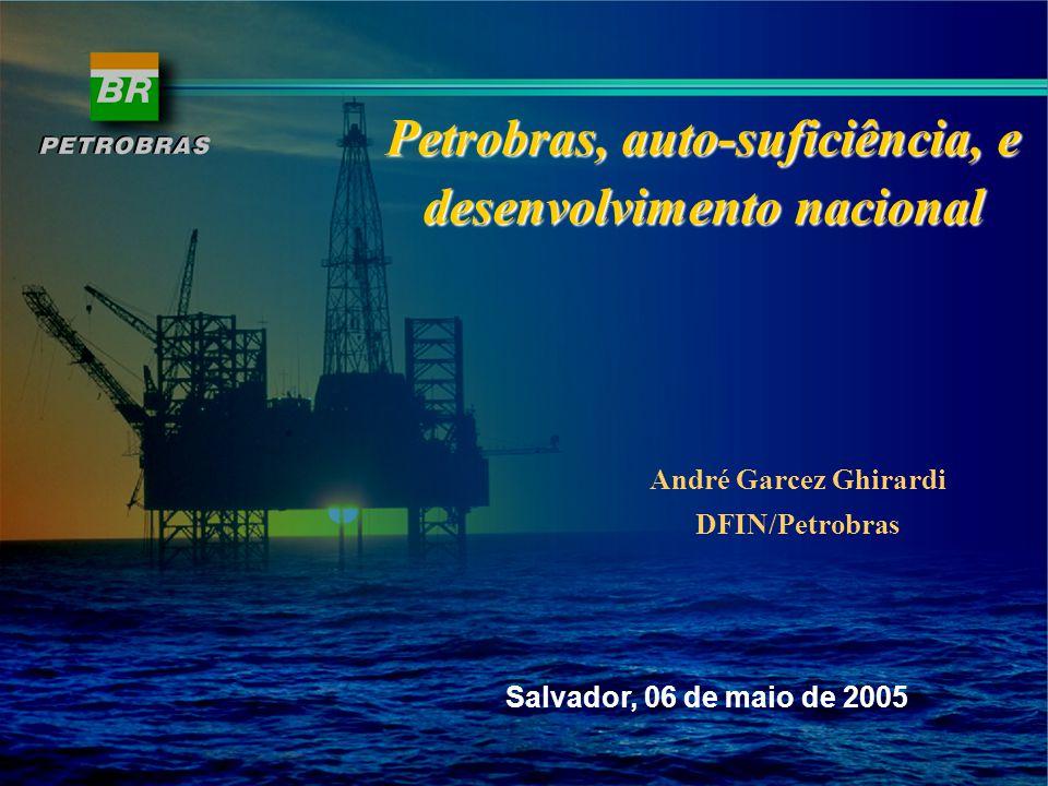 Preços Internacionais Fonte: BP Statistical Review 2004