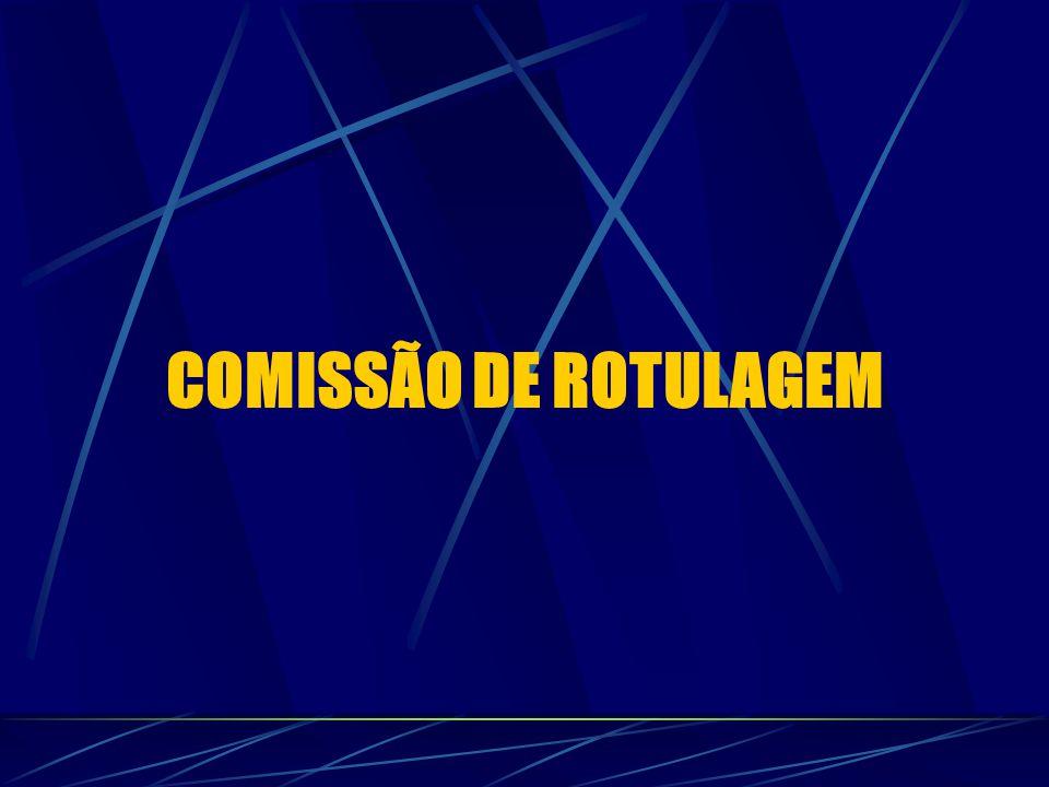 COMISSÃO DE ROTULAGEM