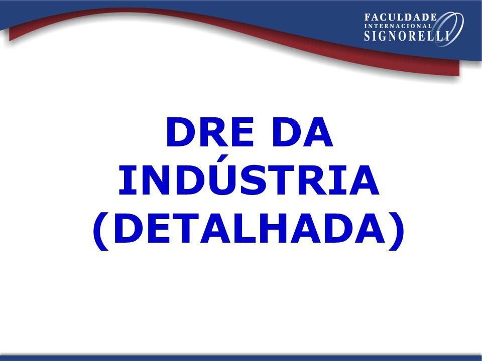 DRE DA INDÚSTRIA (DETALHADA)