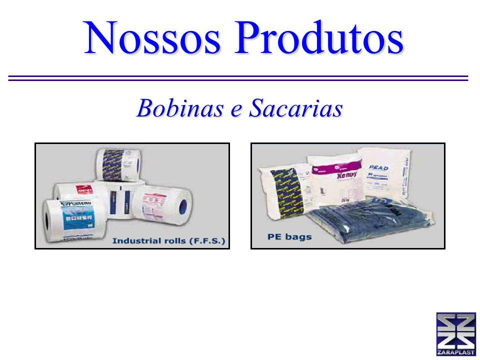 Bobinas e Sacarias Nossos Produtos