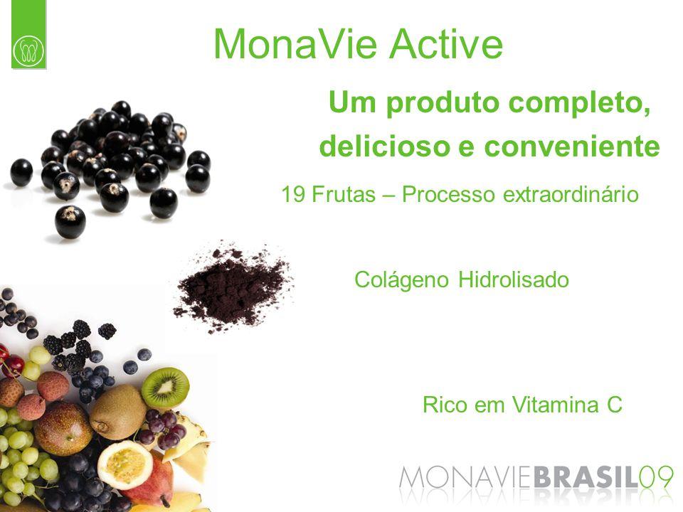 Colágeno Hidrolisado Rico em Vitamina C 19 Frutas – Processo extraordinário Um produto completo, delicioso e conveniente