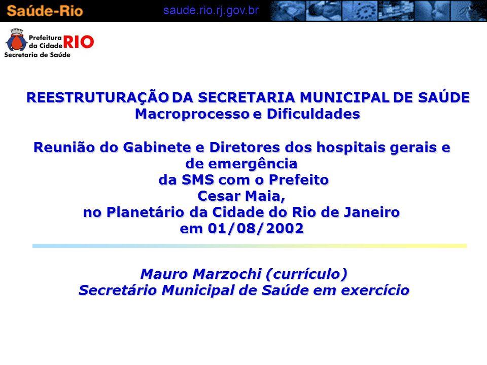 saude.rio.rj.gov.brMACROPROCESSOS 3.TECNOLOGIAS DE INFORMAÇÃO E COMUNICAÇÃO 4.