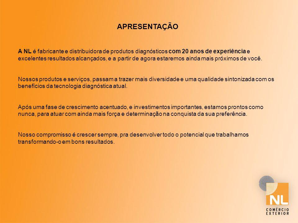 DISTRIBUIÇÃO A NL possui Distribuidores espalhados por todo o Brasil, atingindo todo o território Nacional.