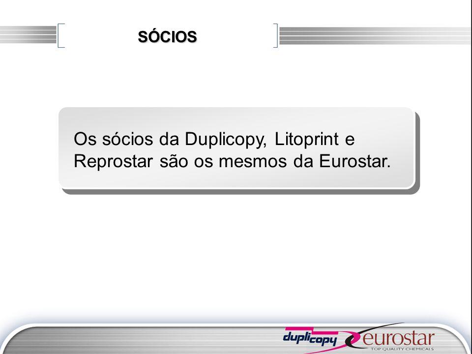 SÓCIOS Os sócios da Duplicopy, Litoprint e Reprostar são os mesmos da Eurostar.