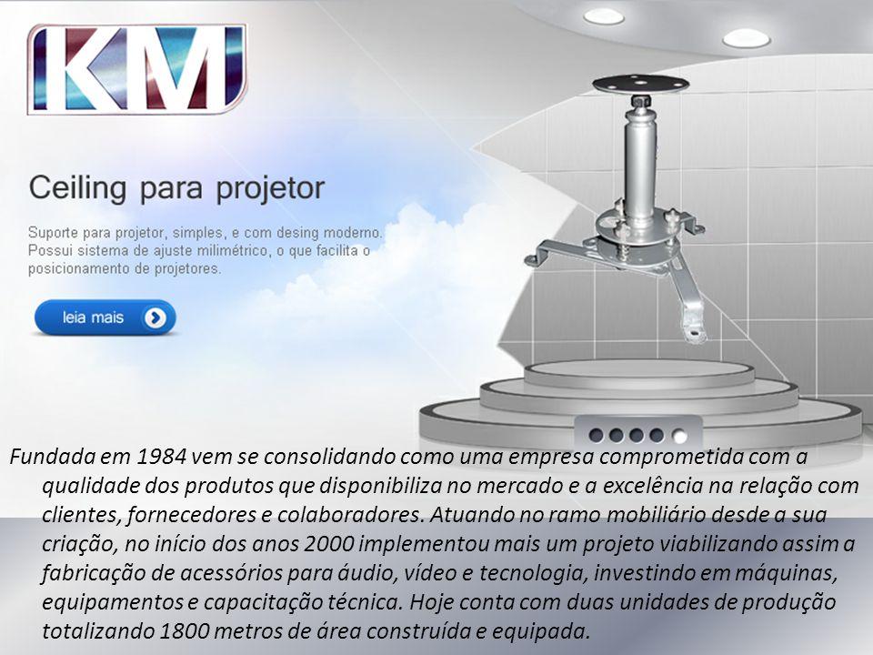 Fundada em 1984 vem se consolidando como uma empresa comprometida com a qualidade dos produtos que disponibiliza no mercado e a excelência na relação