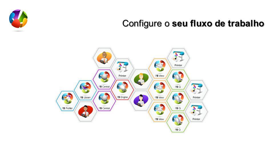 Configure o seu fluxo de trabalho
