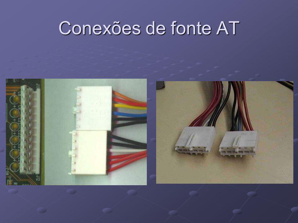 Conexões de fonte AT
