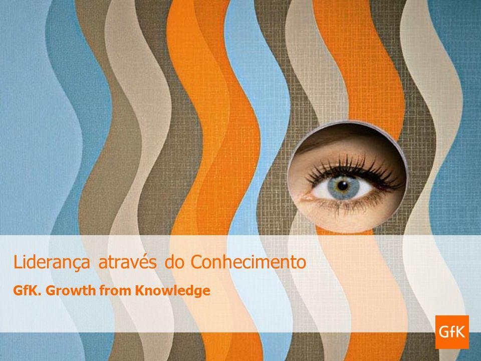 GfK. Growth from Knowledge Liderança através do Conhecimento