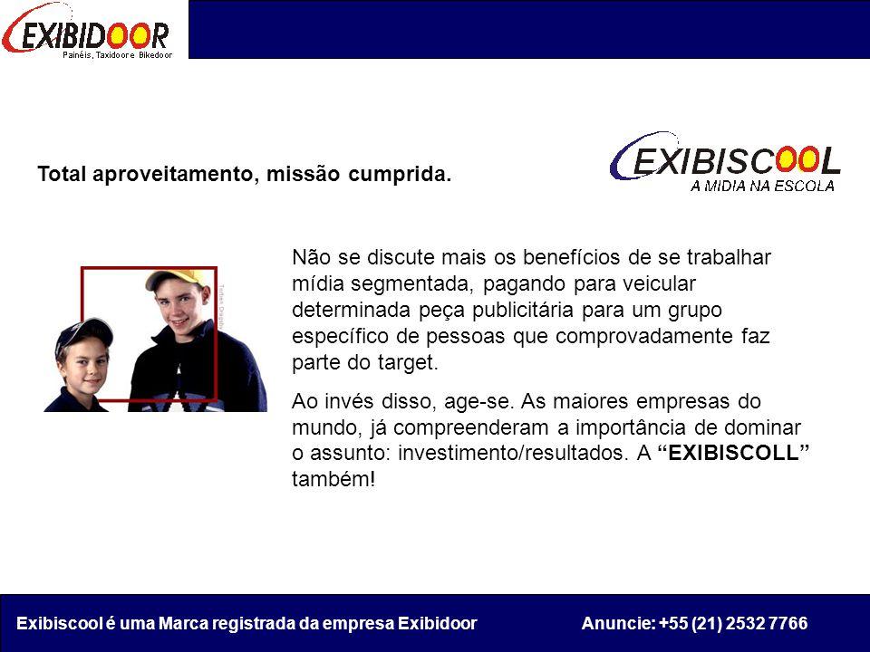 Seguindo um sucesso de mídia segmentada dos Estados Unidos e Europa, a EXIBDOOR trás para o Brasil a Exibiscool.