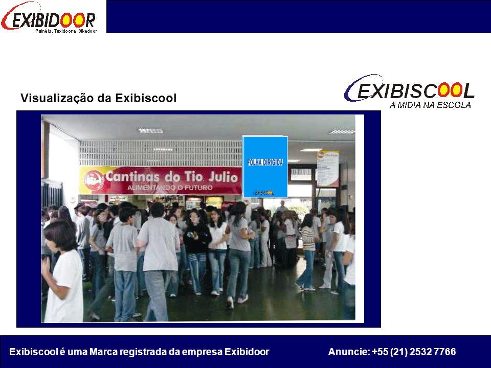 Visualização da Exibiscool Exibiscool é uma Marca registrada da empresa Exibidoor Anuncie: +55 (21) 2532 7766