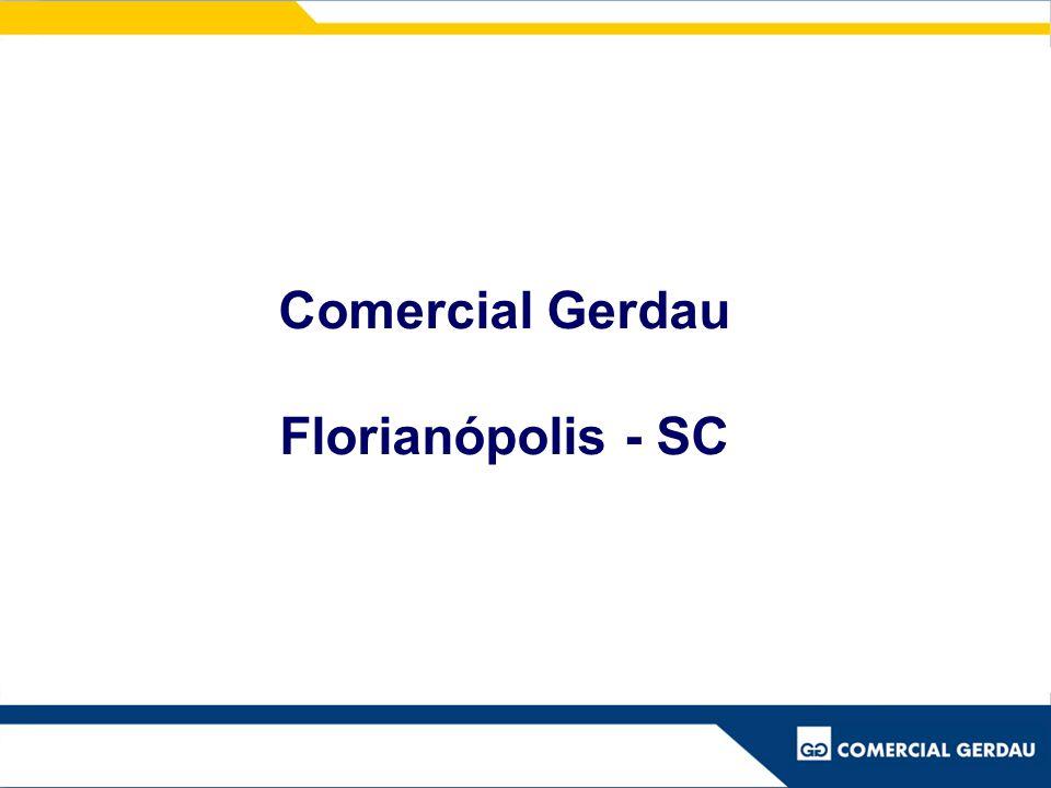 Comercial Gerdau Florianópolis - SC