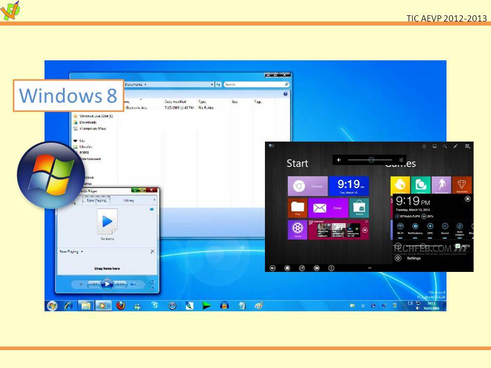 TIC AEVP 2012-2013 Windows 8