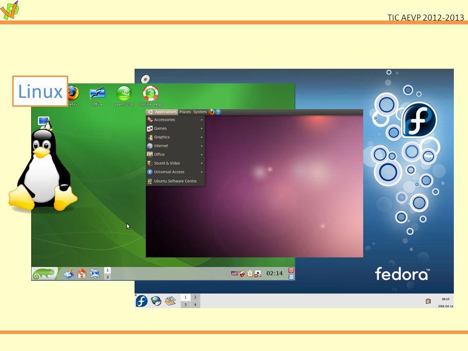 TIC AEVP 2012-2013 Linux