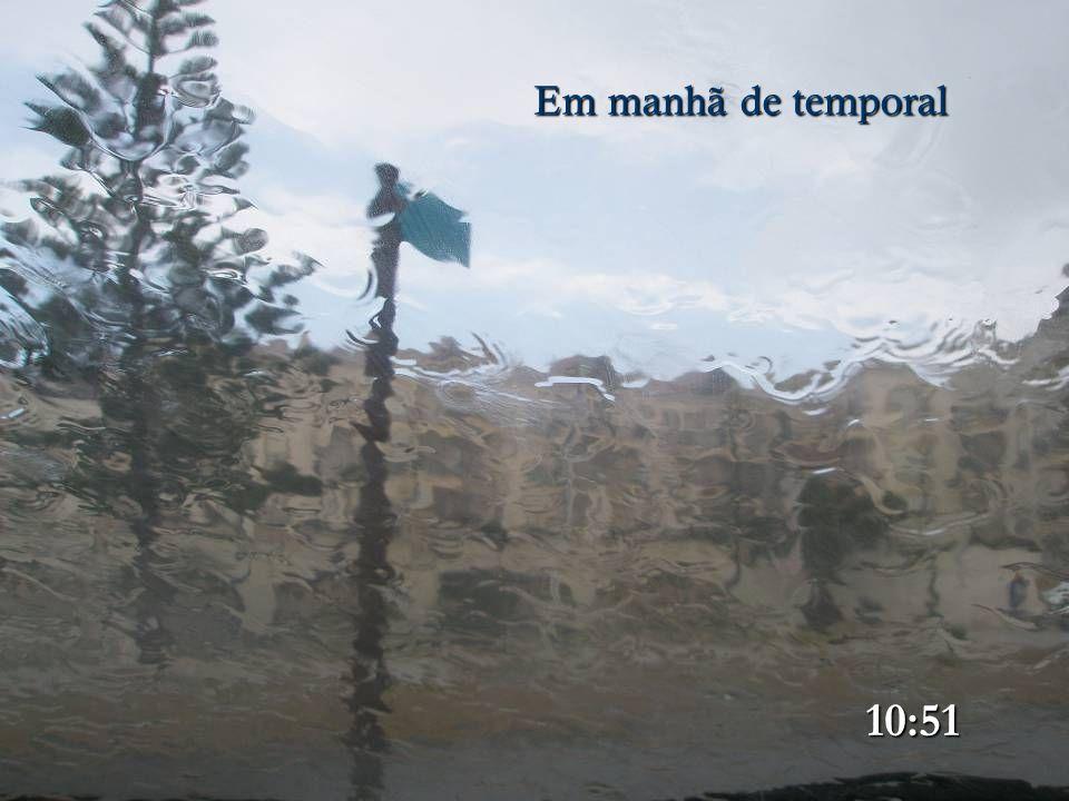 Em manhã de temporal 10:50 30/12/2009 Imagem obtida dentro do carro 10:50