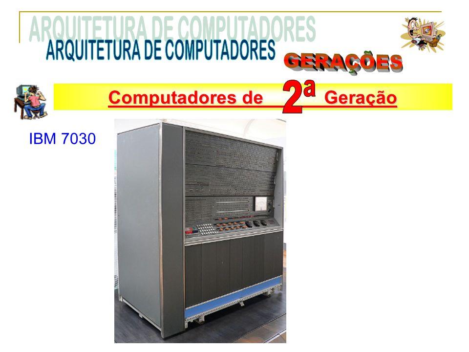 IBM 7030 Computadores de Segunda Geração Computadores de Geração