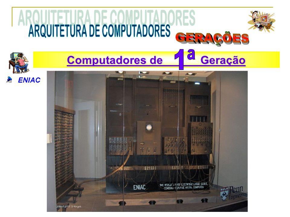 ENIAC Computadores de Geração