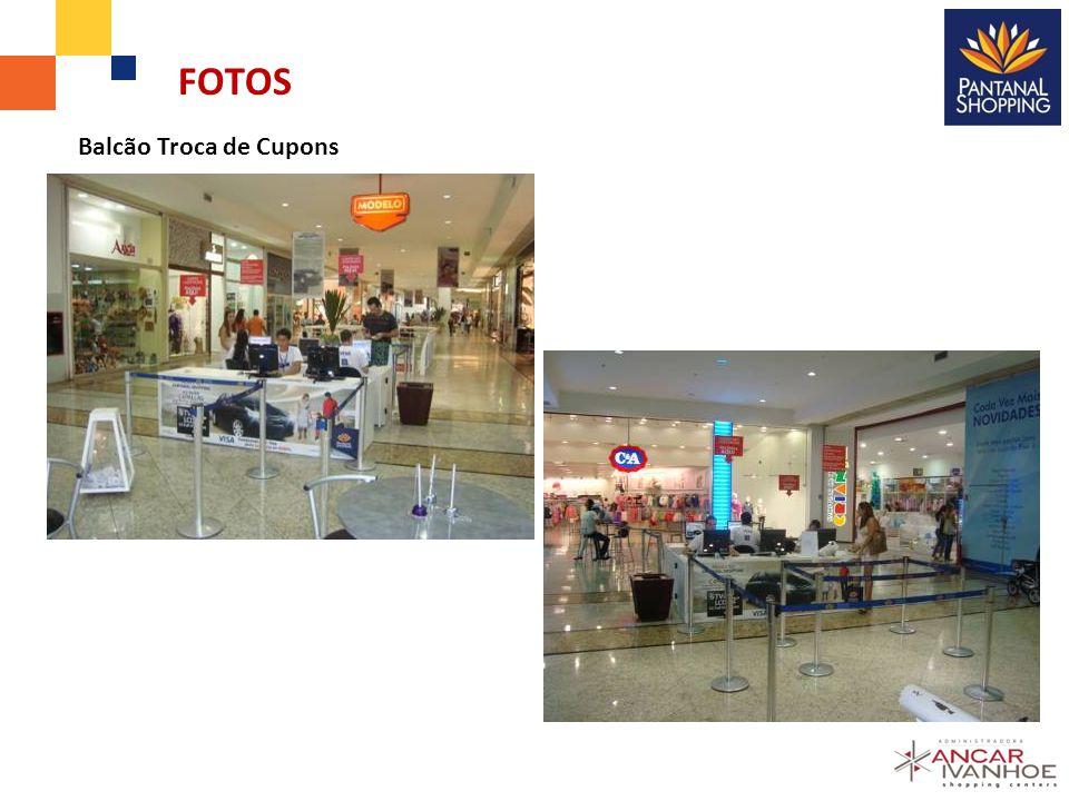 FOTOS Balcão Troca de Cupons