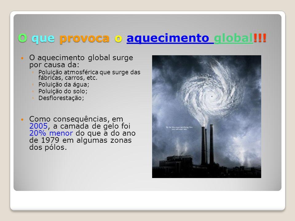 U m dos maiores contributos para a poluição atmosférica são fábricas, sprays, etc.