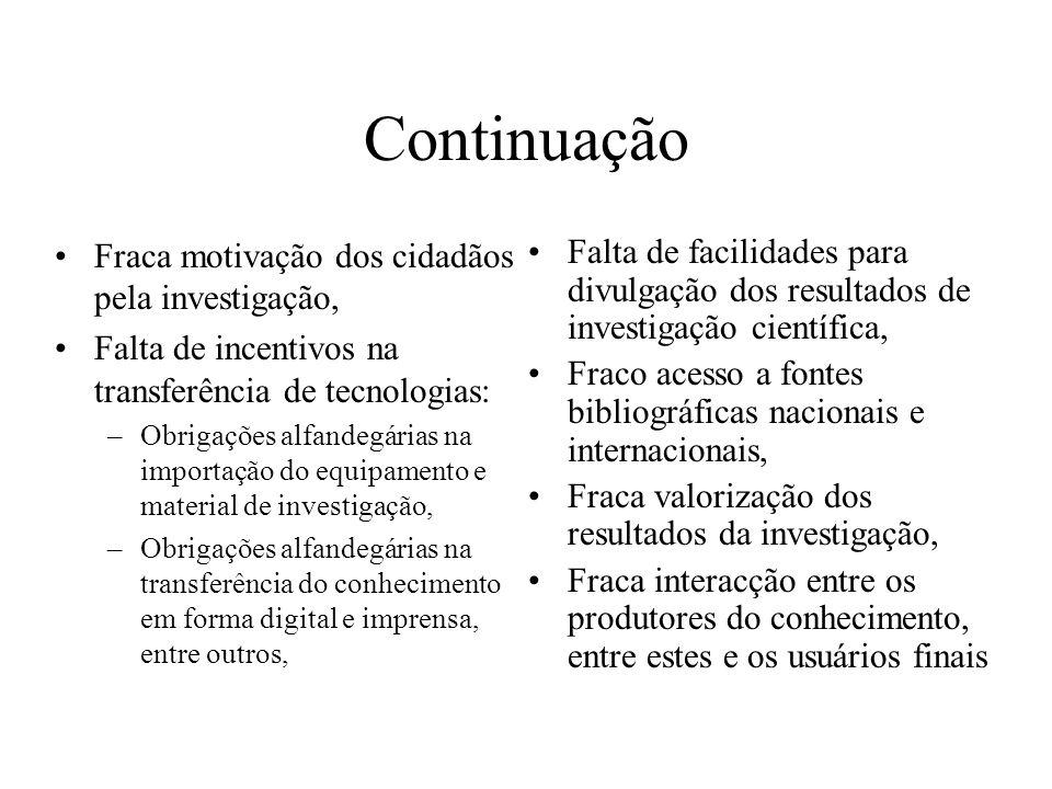 Muito obrigado Venancio.massingue@mct.gov.mz Ministro da Ciência e Tecnologia