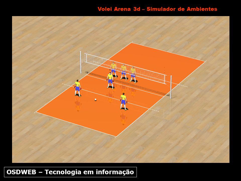 Volei Arena 3d – Simulador de Ambientes OSDWEB – Tecnologia em informação