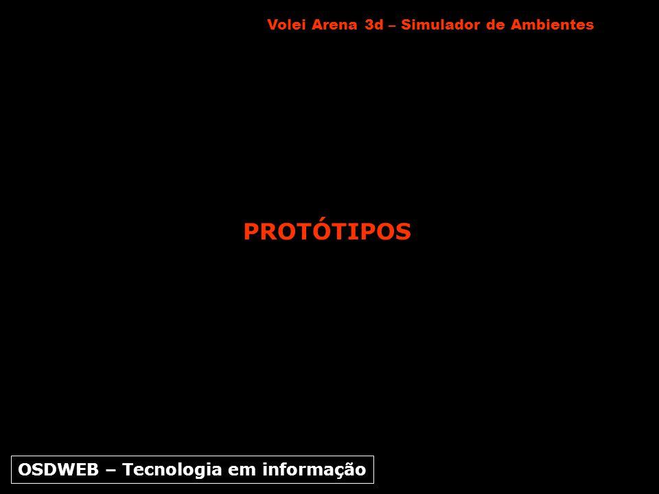 PROTÓTIPOS Volei Arena 3d – Simulador de Ambientes OSDWEB – Tecnologia em informação