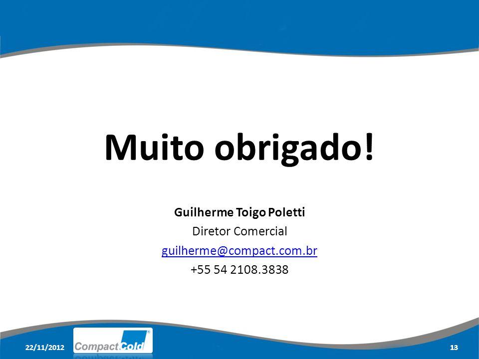 22/11/201213 Muito obrigado.