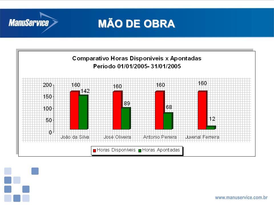 MÃO DE OBRA