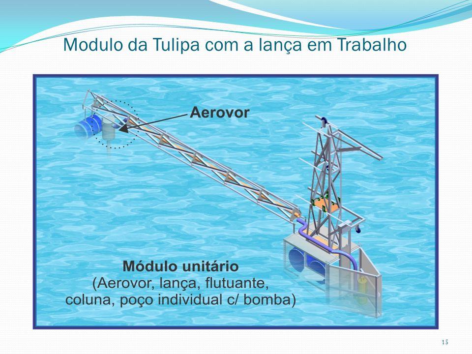 Modulo da Tulipa com a lança em Trabalho 15