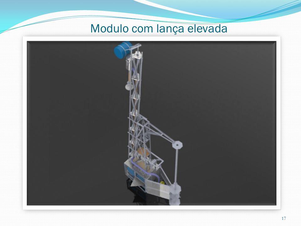 Modulo com lança elevada 17