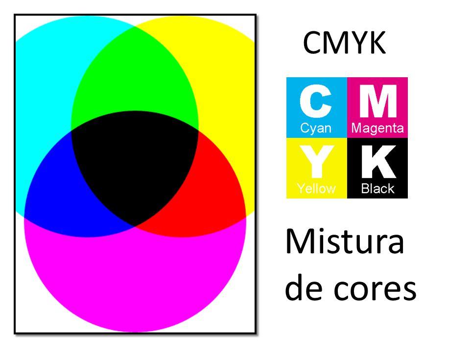 Mistura de cores CMYK