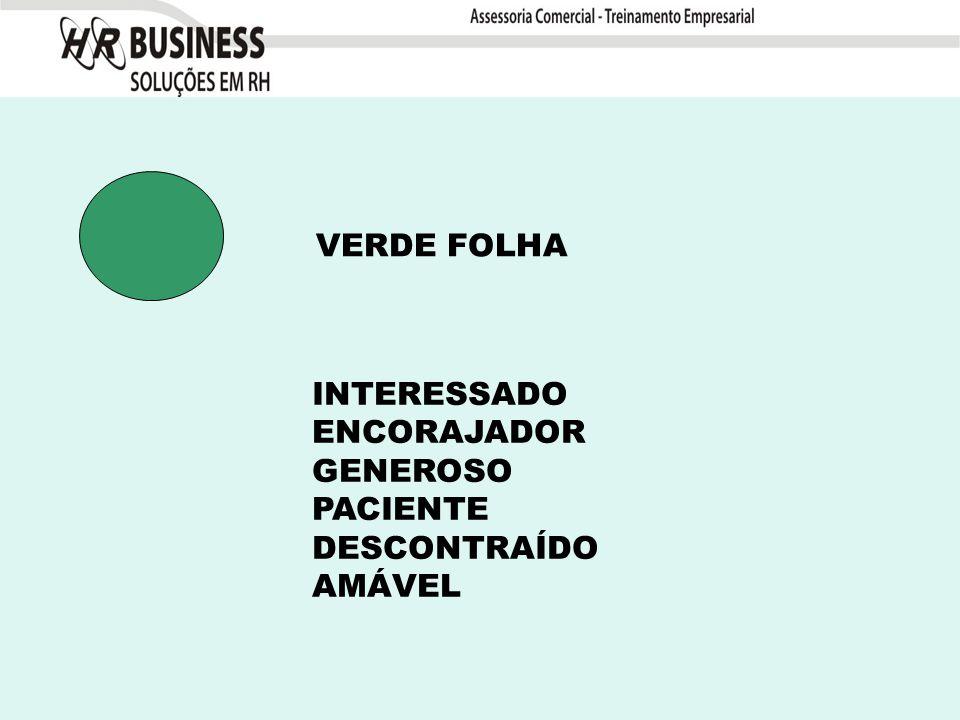 VERDE FOLHA INTERESSADO ENCORAJADOR GENEROSO PACIENTE DESCONTRAÍDO AMÁVEL