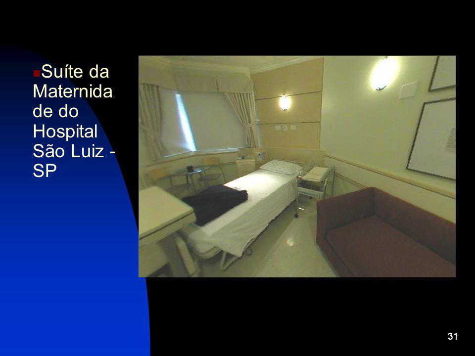 31 Suíte da Maternida de do Hospital São Luiz - SP